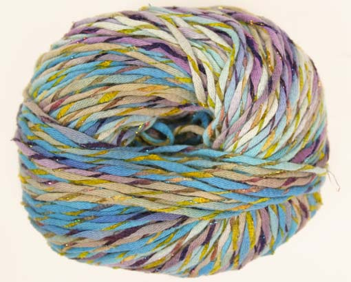 Trendsetter Incanto Yarn  Color 22 Turquoise and Blueberries